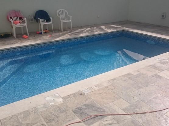 מלויי המים בבריכה- תל מונד