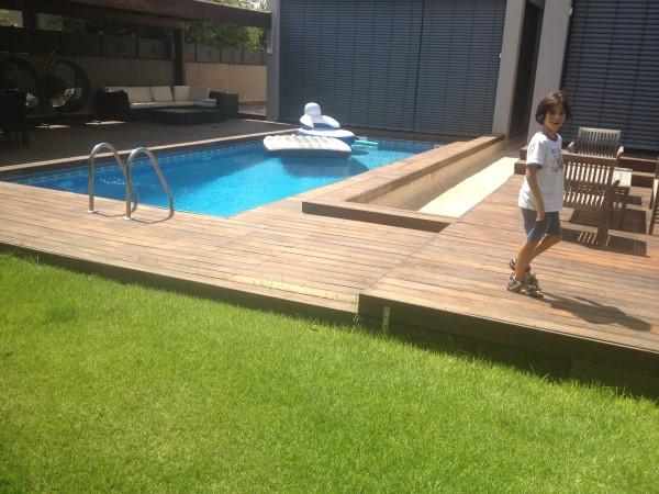 בניית בריכות שחיה פרטיות בגינה